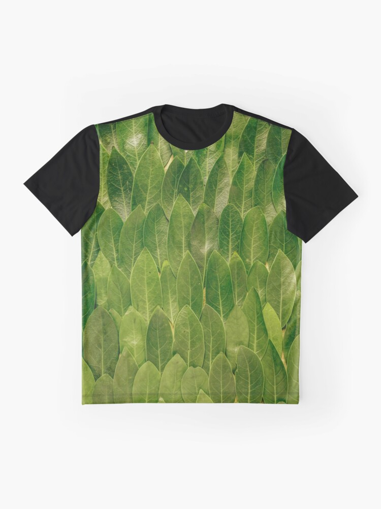 Alternate view of Leaves - Nature Graphic T-Shirt