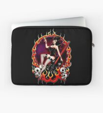 Rockabilly Rockabella (Black) Laptop Sleeve