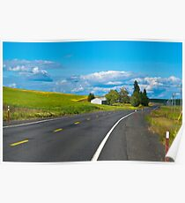 Palouse Road Poster