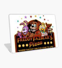 Five Nights at Freddy's Freddy Fazbear's Pizza FNAF logo Laptop Skin