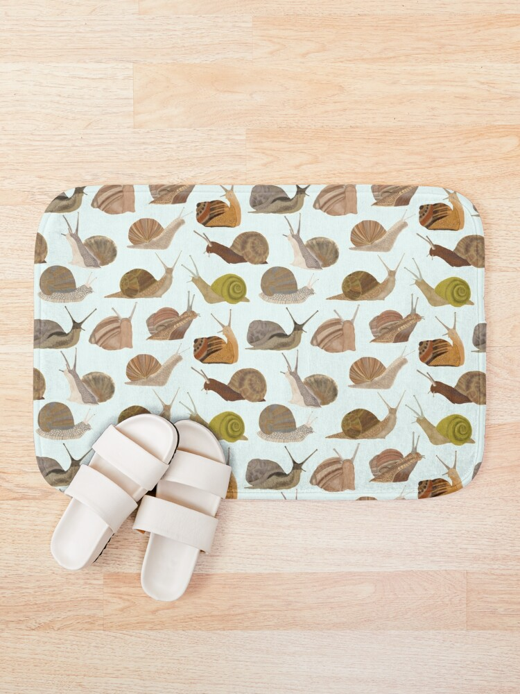 Alternate view of Snails Bath Mat