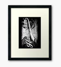 Hamsterdam - Cloud Nine Edition (White) Framed Print