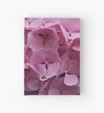Rosa Hortensieblumen Notizbuch
