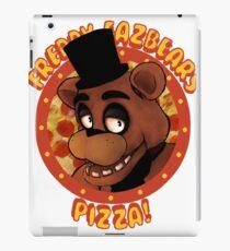 FNAF Freddy Fazbear Logo Fazbear's Pizza iPad Case/Skin