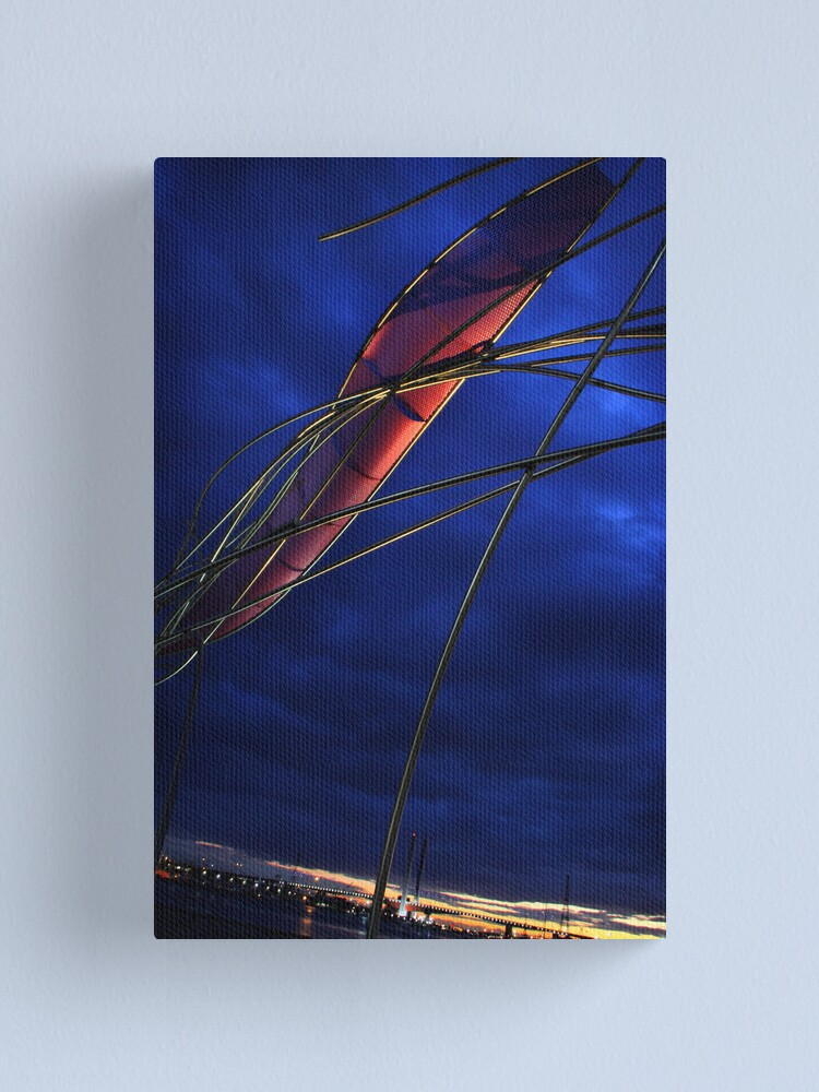 Alternate view of Red sails in the sunset Canvas Print