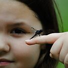 The girl and the dragonfly by Erica Sprouse