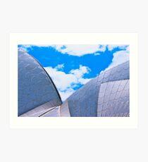 Opera House Double Sail Art Print