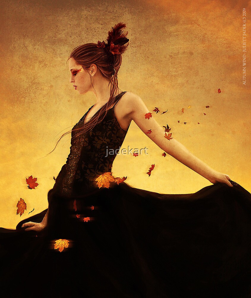 autumn wind by jadekart