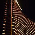 Wynn Las Vegas at night by Henry Plumley