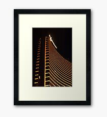 Wynn Las Vegas at night Framed Print