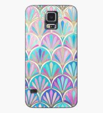 Glamouröse Zwanziger Jahre Art-Deco-Pastell-Muster Hülle & Klebefolie für Samsung Galaxy