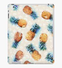 Ananas + Kristalle iPad-Hülle & Klebefolie