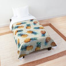 Pineapples + Crystals Comforter