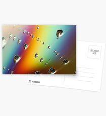 CD Rainbow Postcards