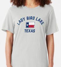 Lady Bird Lake Texas Slim Fit T-Shirt