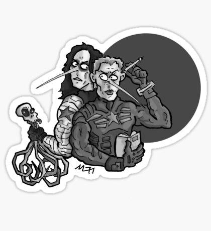 Old Friends Sticker