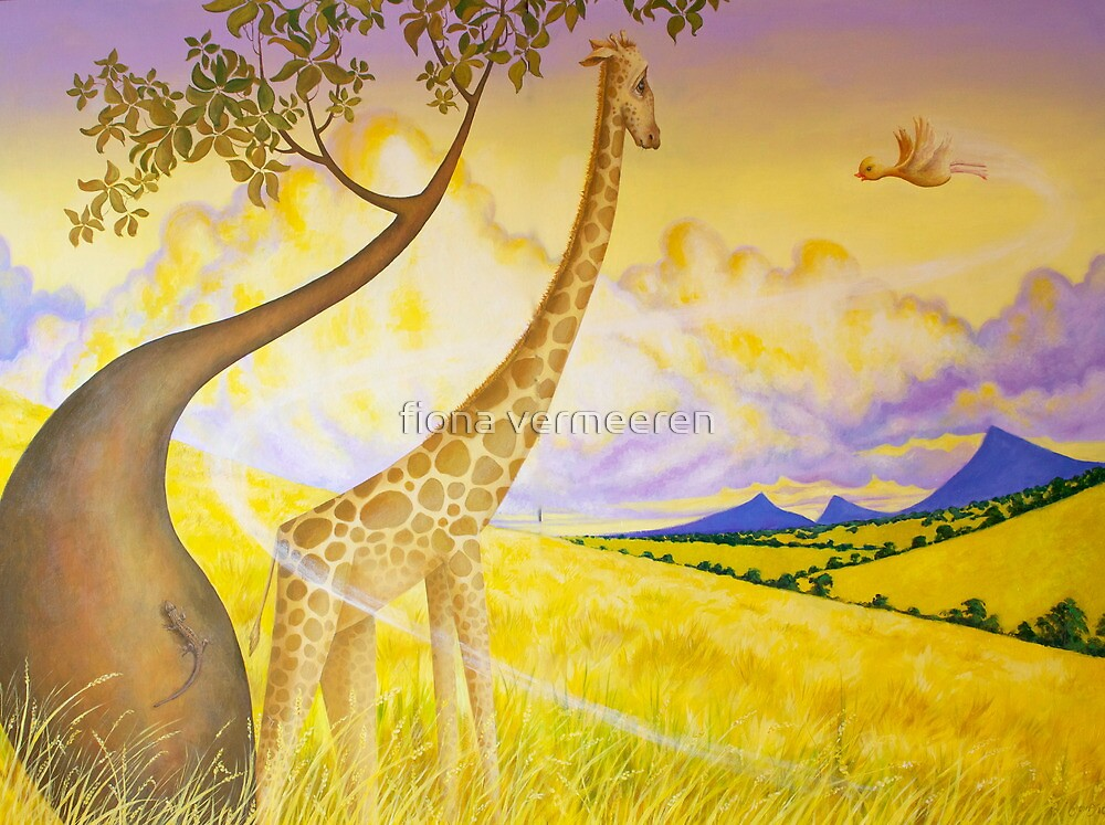 Jeffery Giraffe by fiona vermeeren