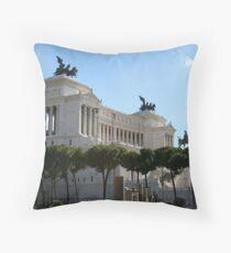 Il Vittoriano Throw Pillow
