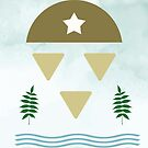 Ein-Mann-Armee #illustration #drawing #geometrical von Creativeaxle