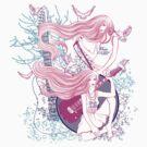 Music, Love, Peace (Color) by Vivian Lau