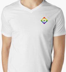 streamfleet supports pride V-Neck T-Shirt