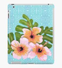 Hibiskusblüten iPad-Hülle & Klebefolie