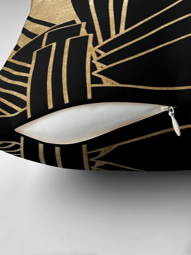 Alternative Ansicht von Art-Deco-Design Bodenkissen