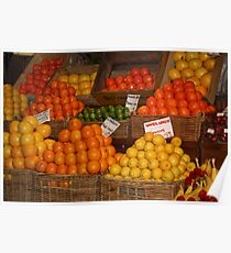 Fruit Galore - The Central Market  Poster