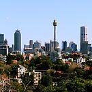 Sydney City Skyline by Raoul Isidro