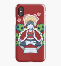 Get Fit - Red iPhone Case/Skin