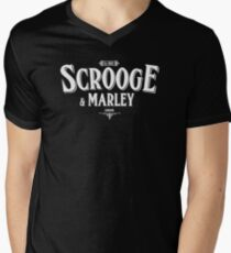Scrooge and Marley Men's V-Neck T-Shirt