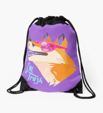 Cool Trash Drawstring Bag