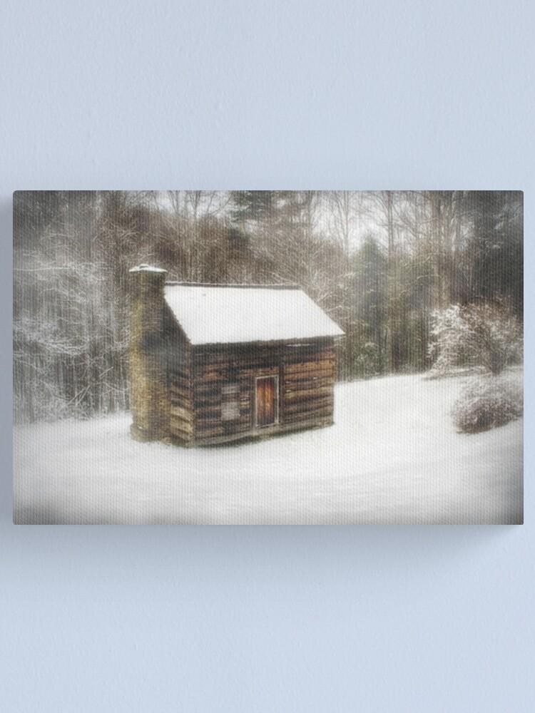 Alternate view of Snowed In Canvas Print