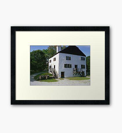 Philipsburg Manor, Tarrytown, New York  Framed Print