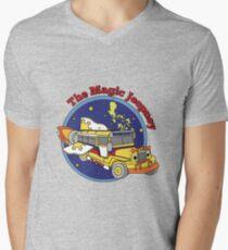 The Magic Jeepney Men's V-Neck T-Shirt