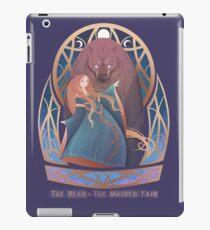 The Bear & The Maiden Fair iPad Case/Skin