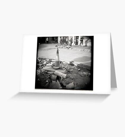 Buried Gas Greeting Card