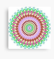 Full bloom Mandala Canvas Print