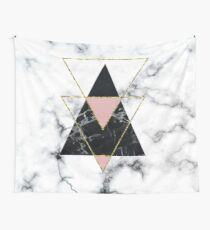 Geo-Glam-Marmor Wandbehang