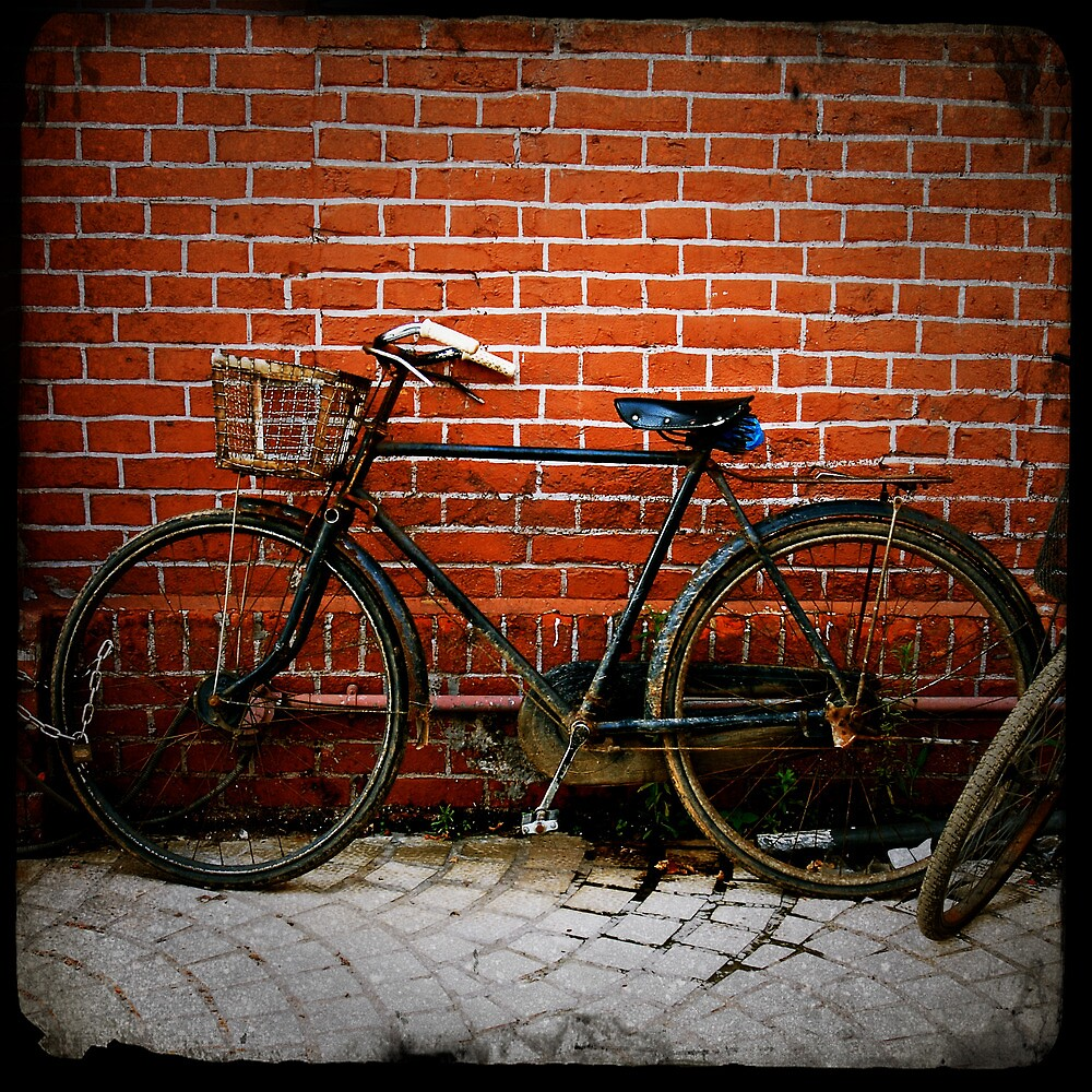 Bikes and Bricks by Robert Baker
