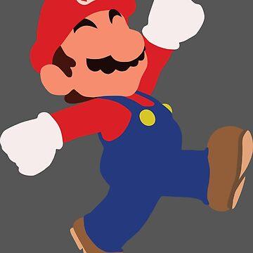 Mario Minimalist Design by SimplisticArts