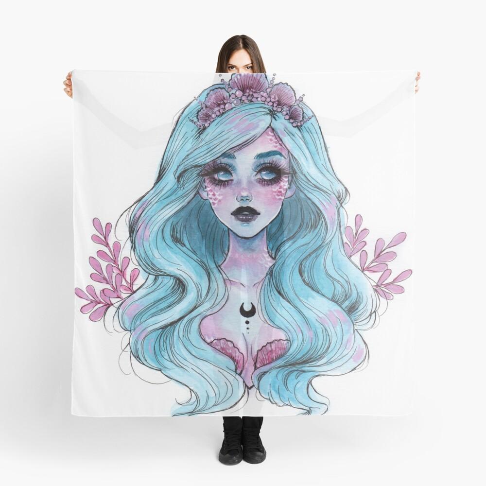 Perlglänzende Meerjungfrau Tuch