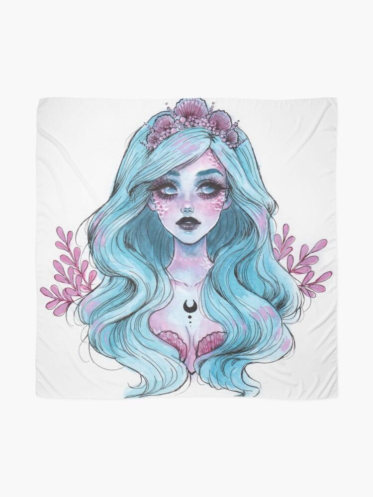 Alternative Ansicht von Perlglänzende Meerjungfrau Tuch