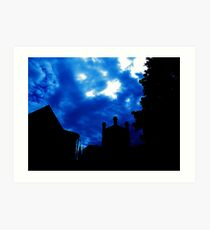 Clouds over Chester Cathedral Art Print