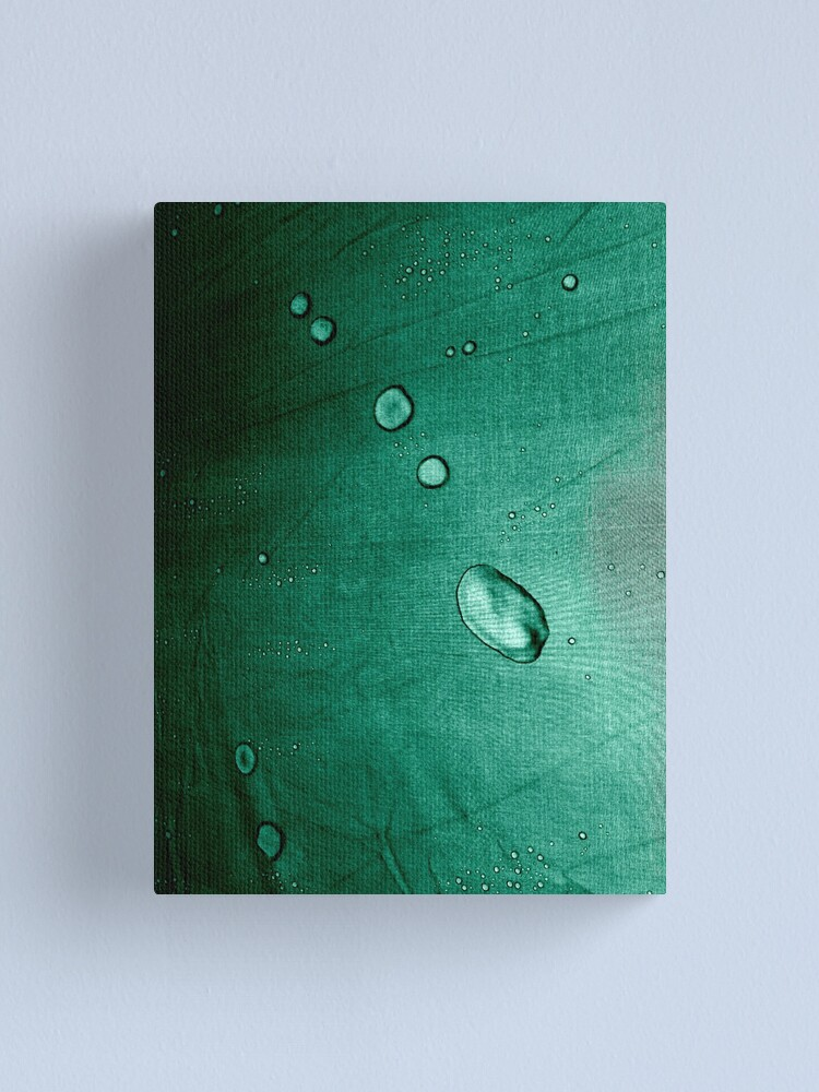 Alternate view of Watching Raindrops... Canvas Print