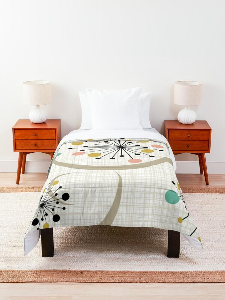 Alternate view of Eames Era Starbursts Comforter