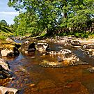 River Wharfe in Langstrothdale by Trevor Kersley