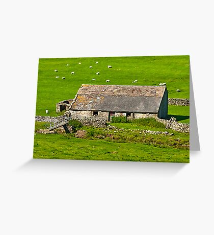 Dales Barn Greeting Card