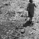 Martha on the beach 2 by Robert Steadman