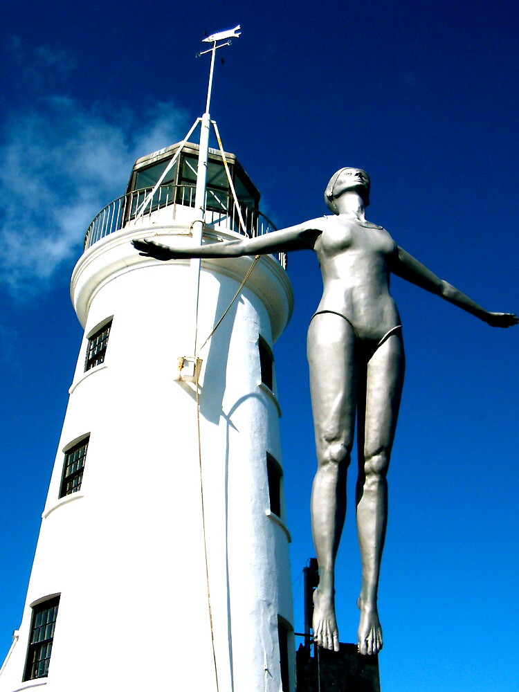 Scarborough Bathing Belle 1 by robsteadman